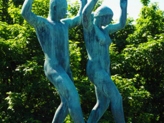 1 of 58 Bronze sculptures on Frogner Park Bridge