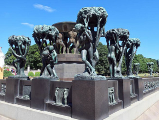 The Fountain, the earliest sculpture unit in the park