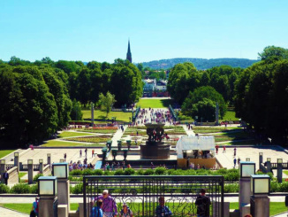 The largest sculpture park in the world, Vigeland Sculpture Park