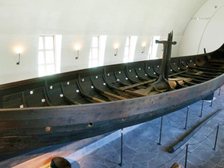 Gokstad ship was built around 890 AD, at the height of the Viking period