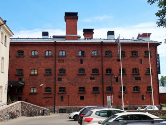 Hotel Katajanokka, built in 1837, is now a modern lifestyle hotel with standard and 'prison-like' accommodations