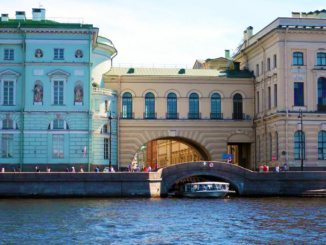 There are many waterways in St Petersburg.  The riverboats need to be very low to pass under the bridges.