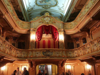 The Home Theater of the Yusupov Palace