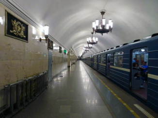 A second station that we visited - very well kept for large number of the people that use it for their daily commute