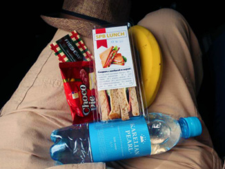 Our 'On the Road' lunch provided by the tour operator