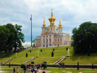 Church of the Grand Palace - Peterhof