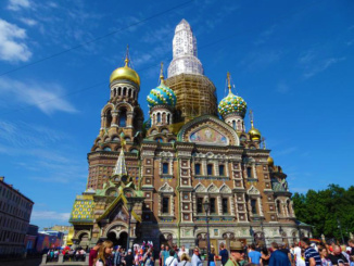 Church of our Savior on Spilled Blood - beautiful on the outside, breath taking on the inside