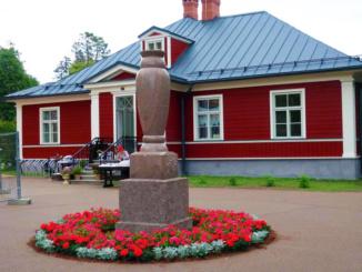 The paper art workshop on the grounds of Sigulda Castle Quarter