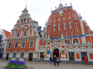 House of the Blackheads was originally erected for unmarried merchants, shipowners, and foreigners in Riga