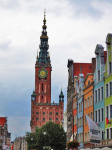 Gdansk Town Hall is one of the finest examples of Gothic-Renaissance architecture in the city.