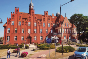 A great example of brickwork that can be found throughout Gdansk
