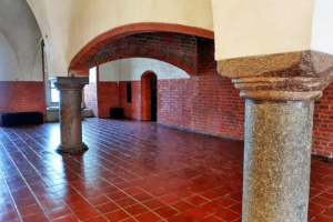 Common gathering area inside the castle.
