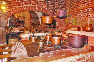 The kitchen and bakery for Malbork Castle.