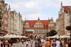 The Green Gate - a department of the Gdansk National Museum.