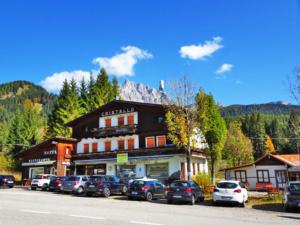 The Cristallo Hotel in Dobbiaco.