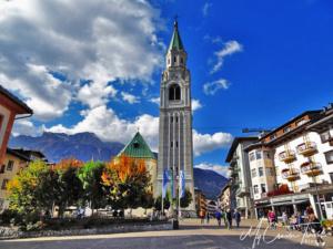 Campanile Bell Tower, Cortina d'Ampezzo