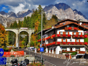 Cortina was very colorful and picturesque.
