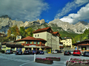 The town is filled with restaurants and lodging and welcomes everyone during ski season