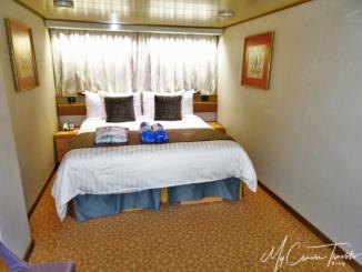 Our inside cabin, Room 10017, deck 10.