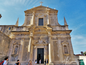The Church of St Ignatius is considered Dubrovniks most beautiful baroque complex.